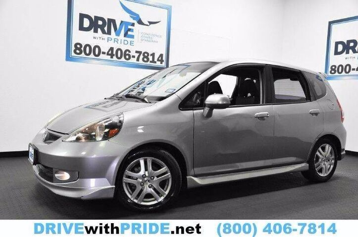 2008 Honda Fit SPORT AUTO KEYLESS ENTRY ALLOY WHLS PWR ACCESSORIES CRUISE CTRL Houston TX