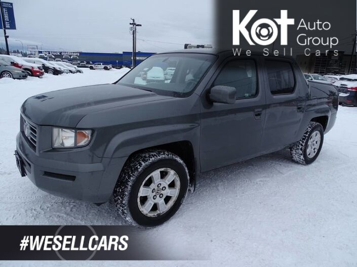 2008 Honda Ridgeline EX-L, Tow Package, Heated Leather Seats, Sunroof Kelowna BC