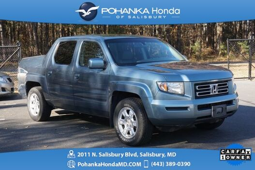 2008_Honda_Ridgeline_RTL 4WD ** BEST MATCH ** ONE OWNER **_ Salisbury MD