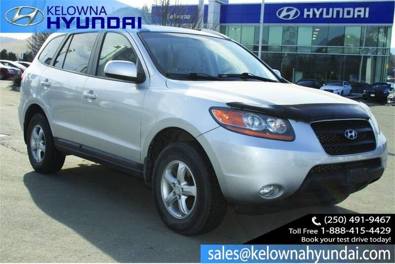 2008 Hyundai Santa Fe GL 5-Pass No accident !! Kelowna BC