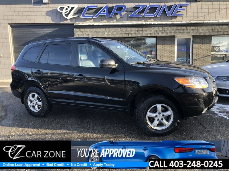 2008 Hyundai Santa Fe GLS ALL WHEEL DRIVE LEATHER SUNROOF Calgary AB