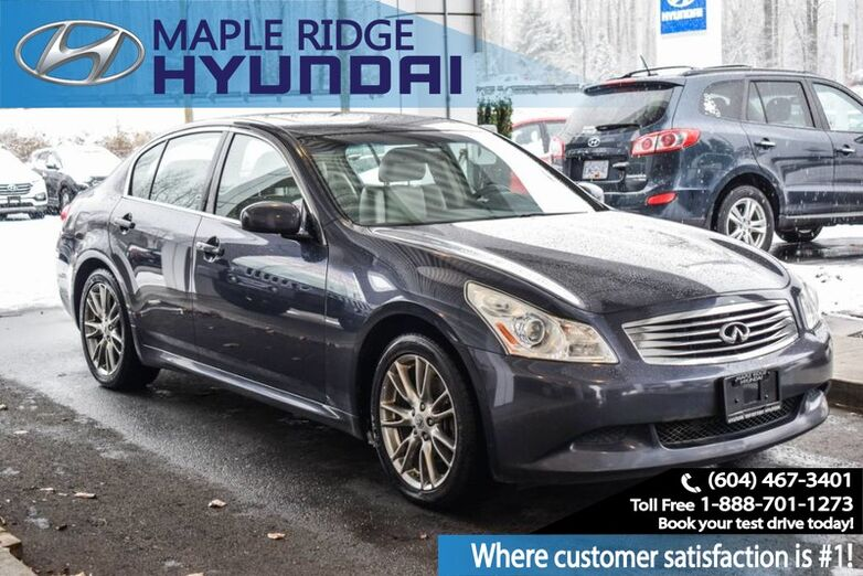 2008 INFINITI G35 Sedan 4dr Sport AWD Maple Ridge BC