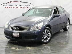2008_INFINITI_G35 Sedan_x / 3.5L V6 Engine / AWD / Rear View Camera / Heated Leather Seats_ Addison IL