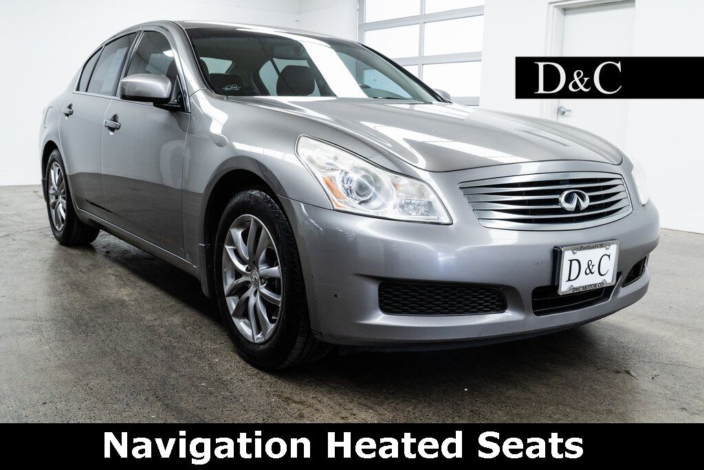 2008 INFINITI G35 X Navigation Heated Seats Portland OR