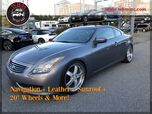 2008 INFINITI G37 Coupe w/ Premium Package