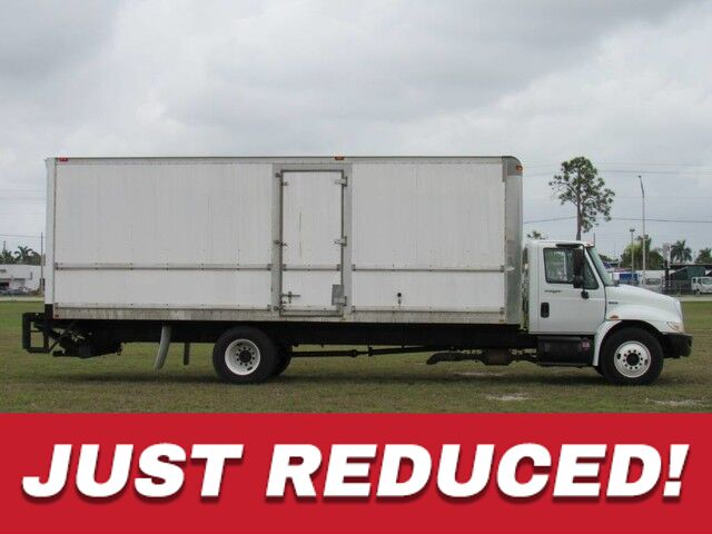 2008 International 4300 DURASTAR 24' Dry Box Homestead FL