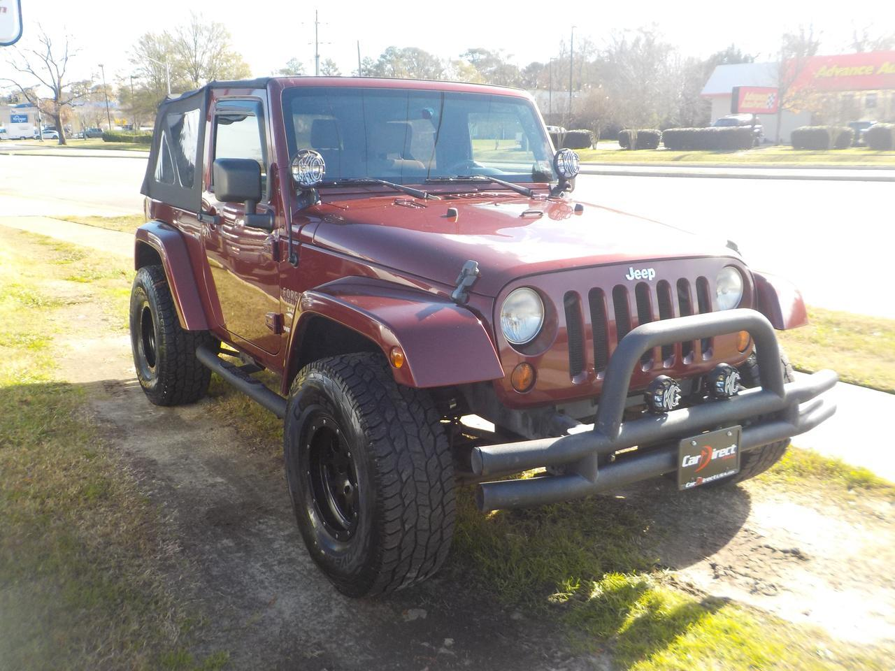 2008 JEEP WRANGLER SAHARA 4X4, TOW PKG, REMOTE START, SOFT TOP, SATELLITE CAPABILITIES, VERY CLEAN, WELL MAINTAINED! Virginia Beach VA