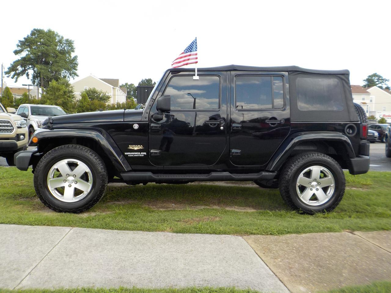 2008 JEEP WRANGLER UNLIMITED SAHARA, SPORT UTILITY, 4WD, PREMIUM ALLOY WHEELS!! Virginia Beach VA