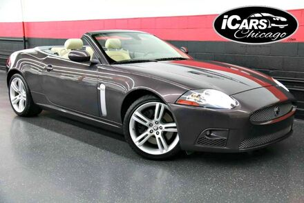 2008_Jaguar_XKR_2dr Convertible_ Chicago IL