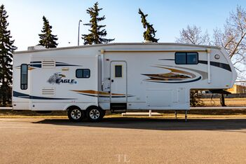 2008_Jayco_Eagle_291 RLTS 35 Ft. Travel Trailer 3 Slides_ Red Deer AB