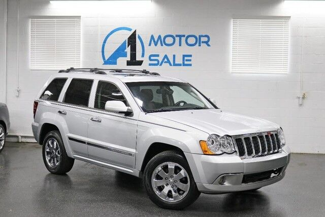 2008 Jeep Grand Cherokee Overland 1 Owner Schaumburg IL