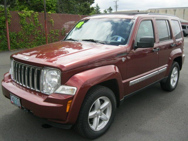 2008 Jeep Liberty Limited Newport OR