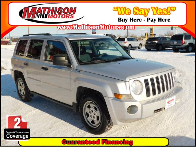 2008 Jeep Patriot Sport Clearwater MN