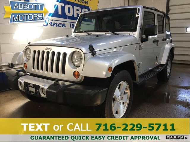 2008 Jeep Wrangler 4Dr Unlimited Sahara 4WD Buffalo NY