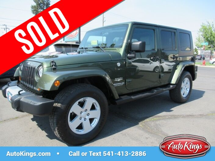 2008 Jeep Wrangler 4WD 4dr Unlimited Sahara Bend OR