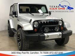 2008_Jeep_Wrangler_SAHARA 4WD AUTOMATIC SOFT TOP CONVERTIBLE ALLOY WHEELS CRUISE CO_ Carrollton TX