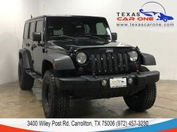 2008_Jeep_Wrangler_UNLIMITED RUBICON 4WD HARD TOP CONVERTIBLE CRUISE CONTROL ALLOY WHEELS_ Carrollton TX