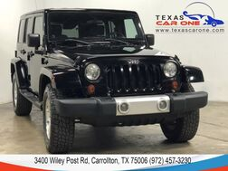 2008_Jeep_Wrangler_UNLIMITED SAHARA 4WD AUTOMATIC HARD TOP CONVERTIBLE NAVIGATION B_ Carrollton TX