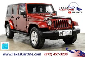 2008_Jeep_Wrangler_UNLIMITED SAHARA 4WD AUTOMATIC HARD TOP CONVERTIBLE TOW HITCH AL_ Carrollton TX