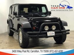 2008_Jeep_Wrangler_UNLIMITED X 4WD AUTOMATIC SOFT TOP CONVERTIBLE CRUISE CONTROL ALLOY WHEELS_ Carrollton TX