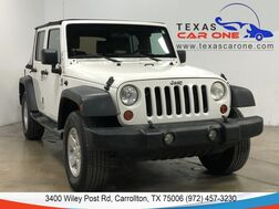 2008_Jeep_Wrangler_UNLIMITED X AUTOMATIC SOFT TOP CONVERTIBLE CRUISE CONTROL ALLOY_ Carrollton TX