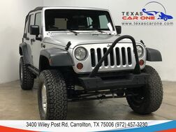 2008_Jeep_Wrangler_UNLIMITED X SOFT TOP CONVERTIBLE ALLOY WHEELS LEATHER STEERING WHEEL_ Carrollton TX