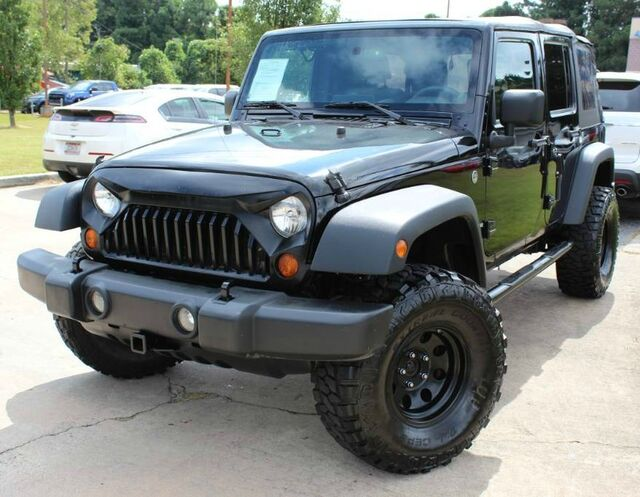 2008 Jeep Wrangler Unlimited   W/ FULL TOW PACKAGE U0026 SATELLITE Lilburn GA  ...