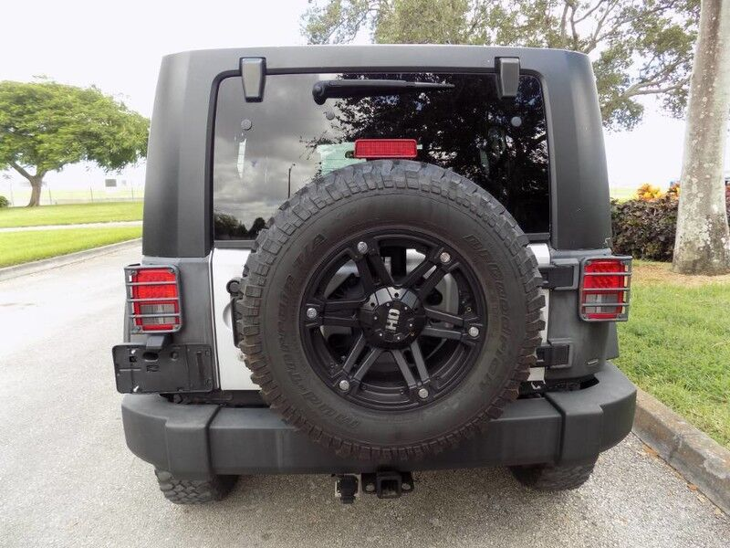 2008 Jeep Wrangler Unlimited Rubicon Hollywood FL