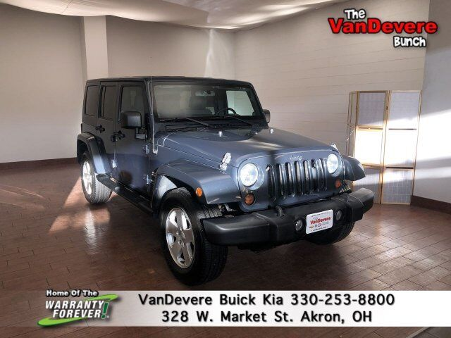 2008 Jeep Wrangler Unlimited Sahara Akron OH
