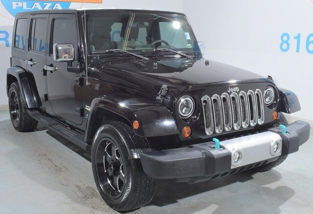 2008 Jeep Wrangler Unlimited Sahara Blue Springs MO