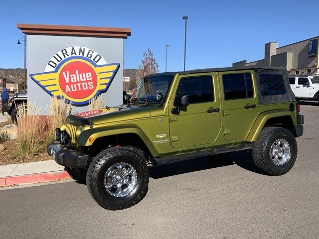 2008 Jeep Wrangler Unlimited Sahara Durango CO