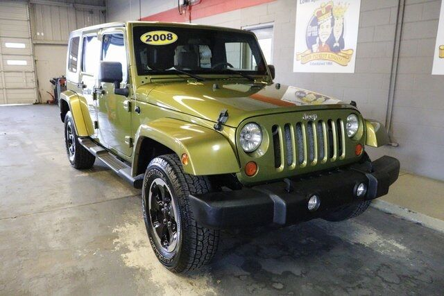 2008 Jeep Wrangler Unlimited Sahara Lake Wales FL