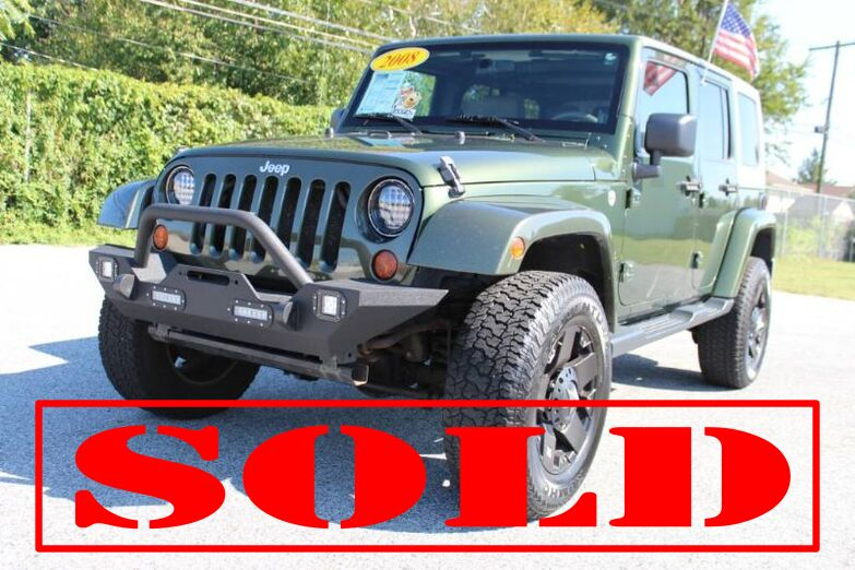 2008 Jeep Wrangler Unlimited Sahara New Castle DE
