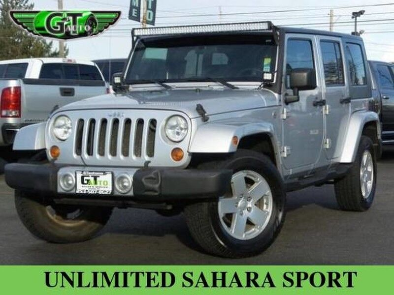 2008 Jeep Wrangler Unlimited Sahara Sport Utility 4D