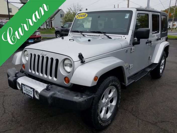 2008 Jeep Wrangler Unlimited Sahara Stratford CT