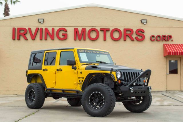 2008_Jeep_Wrangler_Unlimited X 4WD_ San Antonio TX