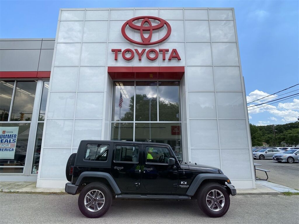 2008 Jeep Wrangler Unlimited X Dudley MA