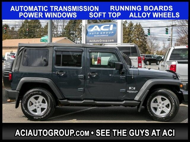 2008 Jeep Wrangler Unlimited X East Windsor CT