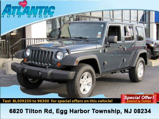 2008 Jeep Wrangler Unlimited X Egg Harbor Township NJ