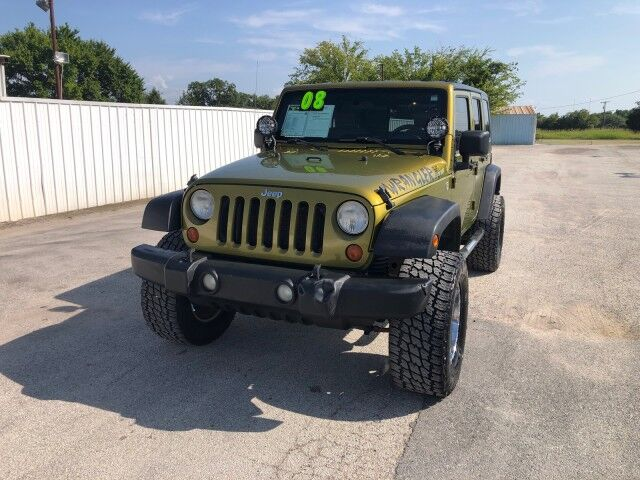 2008 Jeep Wrangler Unlimited X Gainesville TX