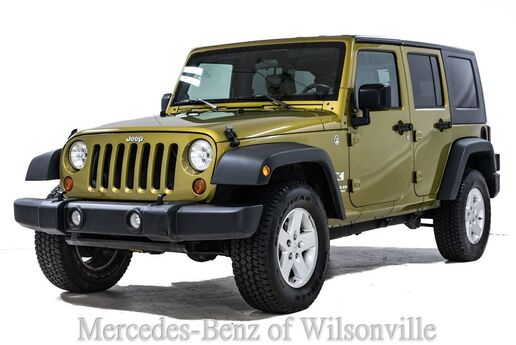 2008 Jeep Wrangler Unlimited X Portland OR