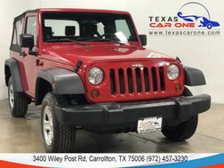 2008_Jeep_Wrangler_X 4WD AUTOMATIC SOFT TOP CONVERTIBLE LEATHER SEATS AUX INPUT_ Carrollton TX