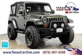 2008_Jeep_Wrangler_X 4WD SOFT TOP CONVERTIBLE TOWING HITCH RUNNING BOARDS ALLOY WHE_ Carrollton TX