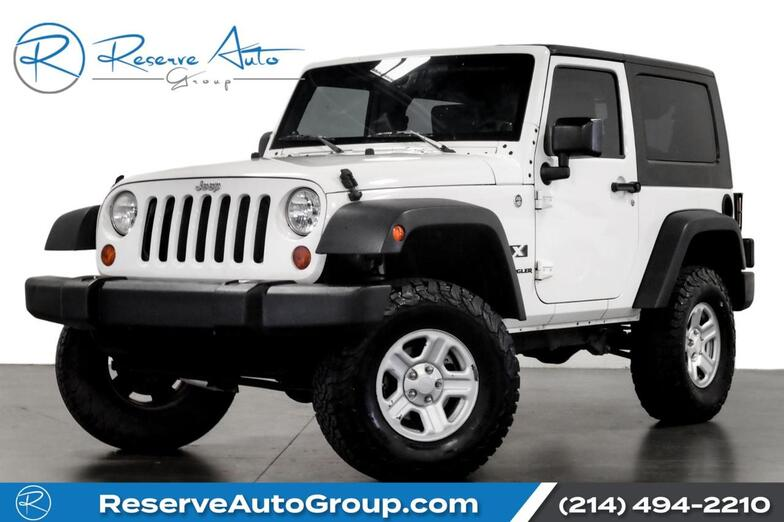 2008 Jeep Wrangler X Automatic Hardtop 3:73 Gears 24B Pkg The Colony TX