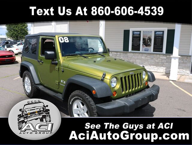 2008 Jeep Wrangler X East Windsor CT