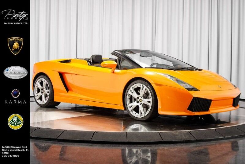 2008_Lamborghini_Gallardo - Manual__ North Miami Beach FL