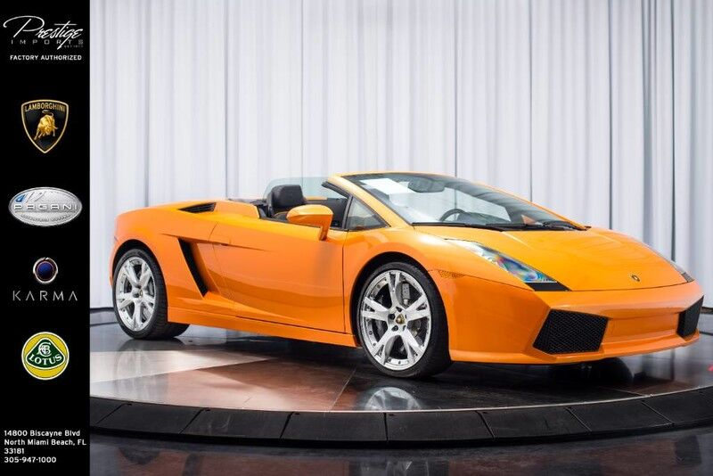 2008_Lamborghini_Gallardo__ North Miami Beach FL