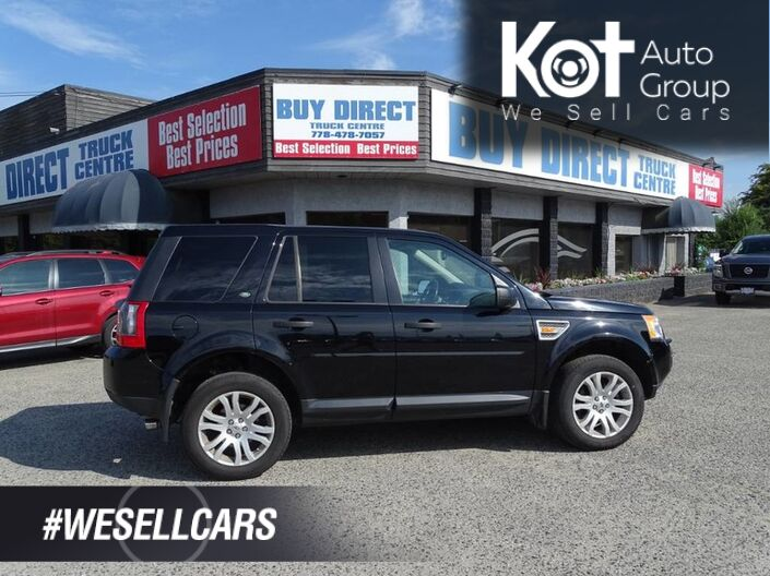 2008 Land Rover LR2 SE, Navigation, Heated Leather Seats, Sunroof, Touch Screen, Back-up Sensor Kelowna BC