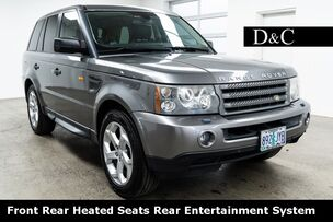 2008 Land Rover Range Rover Sport HSE Front Rear Heated Seats Rear Entertainment System