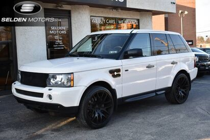 2008 Land Rover Range Rover Sport Supercharged SC